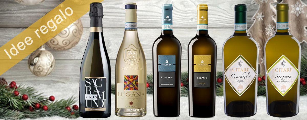 Confezione regalo per la degustazione di 5 bottiglie di Lugana